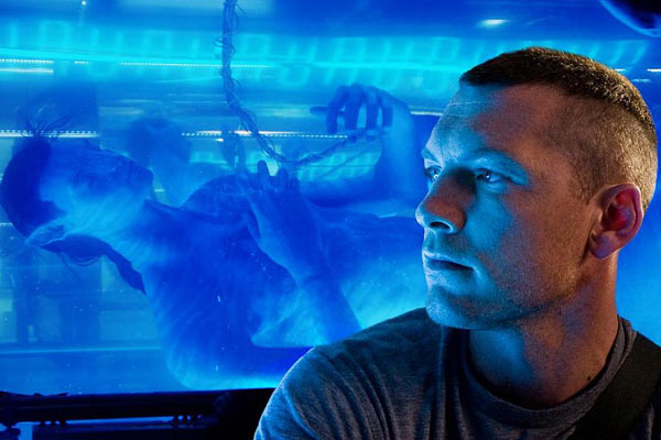 Jake (Sam Worthington) et son avatar NaVi