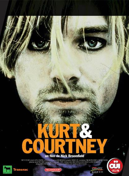 Kurt & Courtney Nirvana poster