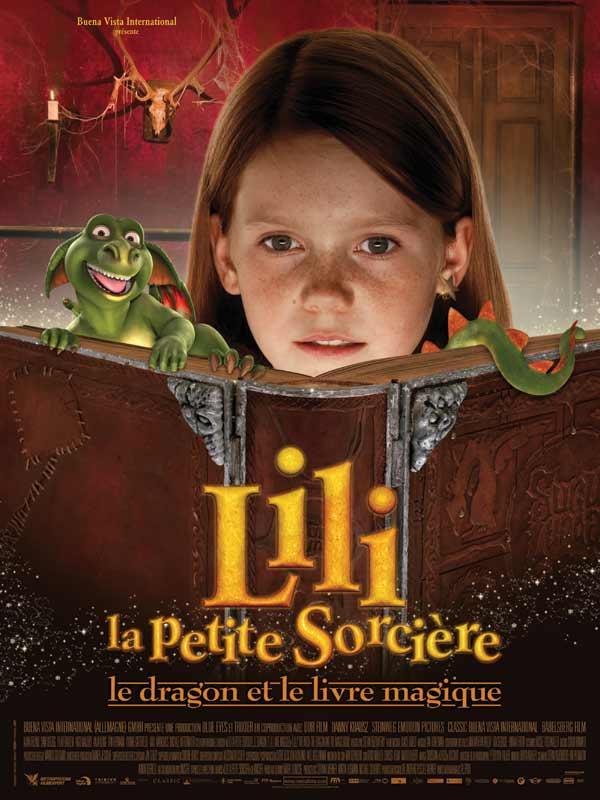 Lili la petite sorci�re, le dragon et le livre magique | Multi | DVDRiP