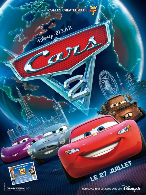 Cars 2 | Multi | DVDRiP | 2011 | ReUp 03/12/2011