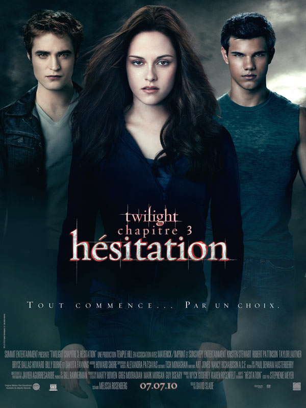 film streaming Twilight - Chapitre 3 : h�sitation(VF)