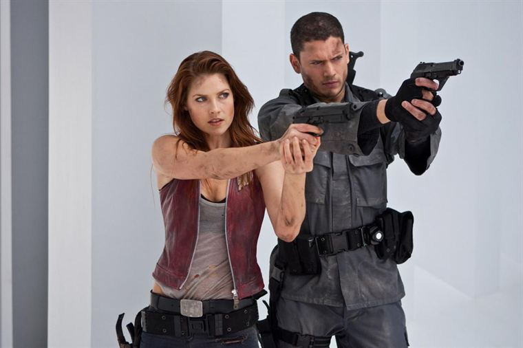 Claire et Chris Redfield