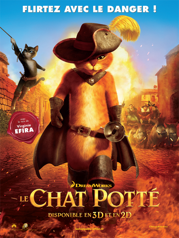 Le Chat Pott� | Depositfiles | BDRiP | 2011  | ReUp 03/03/2012