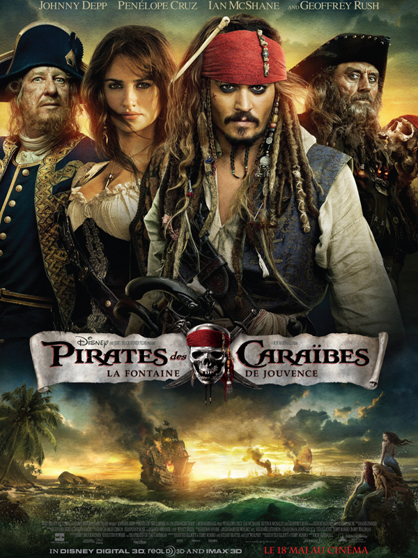 Pirates des Cara�bes : la Fontaine de Jouvence | Multi| BDRiP | 2011
