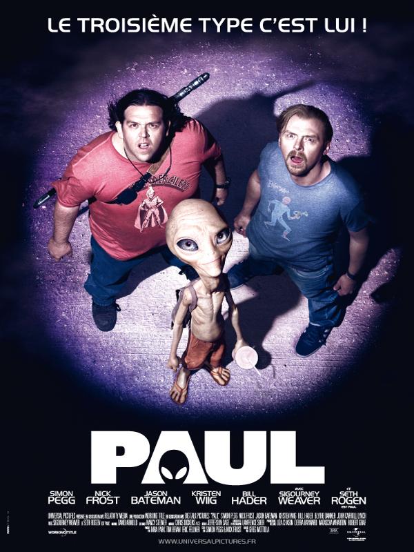 Paul : une comédie extra-terrestre dans Critiques 19640165