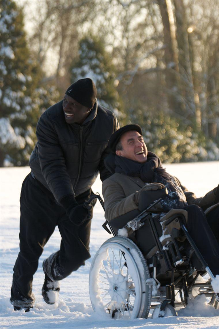 Driss (Omar Sy), Philippe (François Cluzet), une belle histoire de complicité, d'amitié