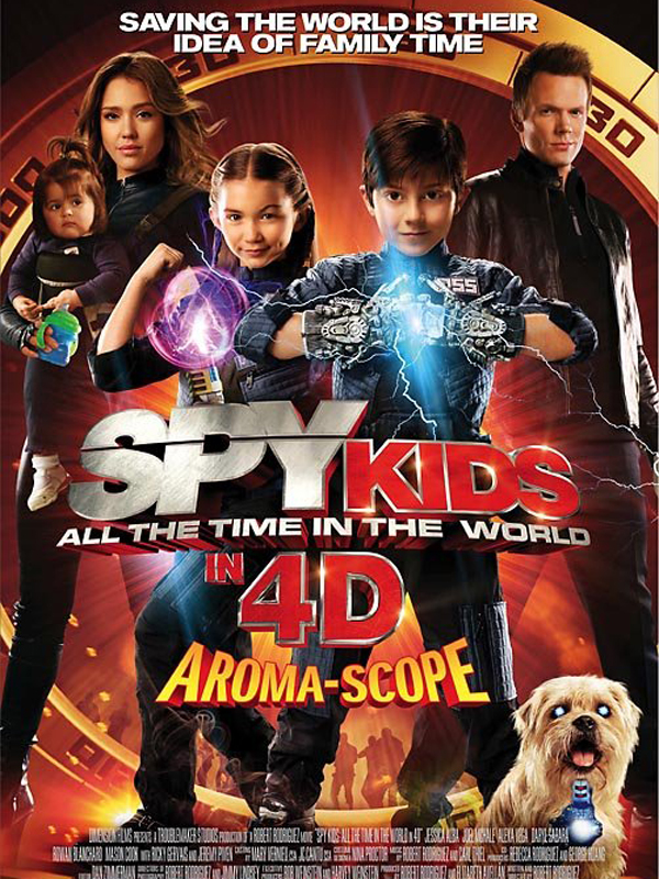 Spy Kids 4: All the Time in the World | Megaupload | DVDRiP | 2011  | ReUp 09/01/2012