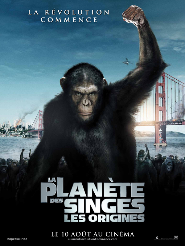 [Films Science fiction, Films Action, Films Aventure] - La Planète des singes : les origines | DVDDRiP | 2011