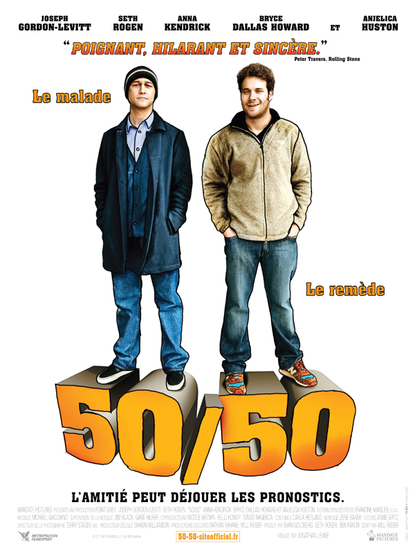 50/50 | Megaupload | BRRiP | 2010 | VOSTFR