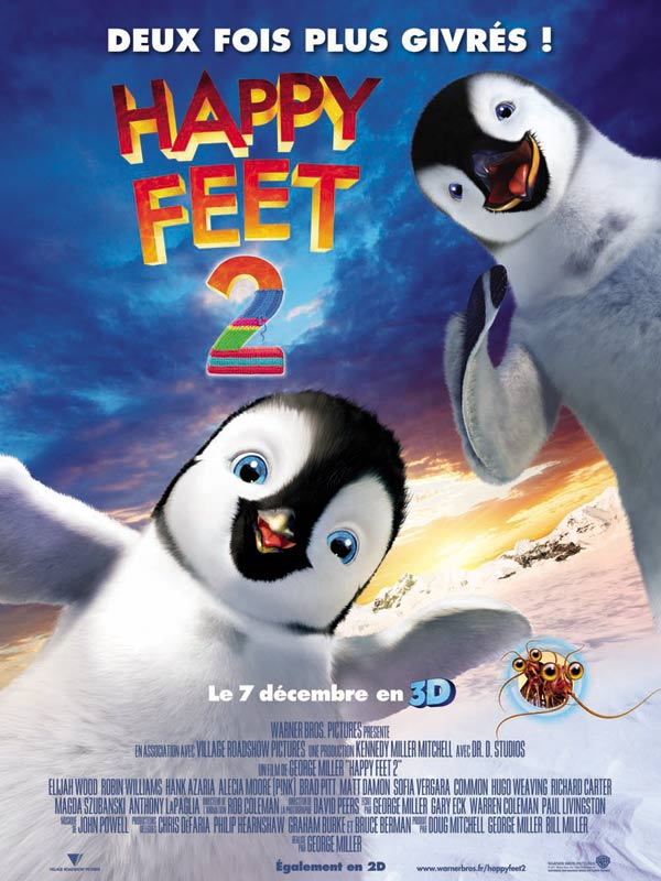 Happy Feet 2 | Multi | DVDRiP | 2011  | ReUp 31/03/2012