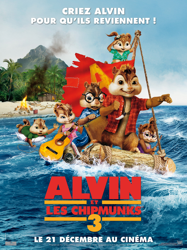 Alvin et les Chipmunks 3 | Multi | DVDRiP | 2011  | ReUp 09/06/2012