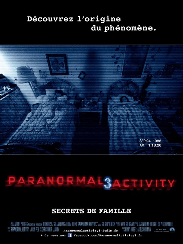 Paranormal Activity 3 TRUEFRENCH | Multi | DVDRiP