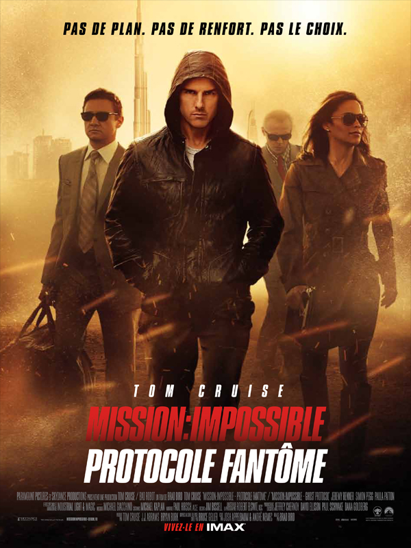 [Films Action, Films Espionnage, Films Thriller] - Mission : Impossible - Protocole fantôme | Multi | CAM-MD | 2011 TRUE FRENCH