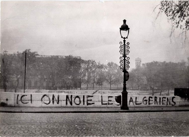 Ici on noie les Algériens