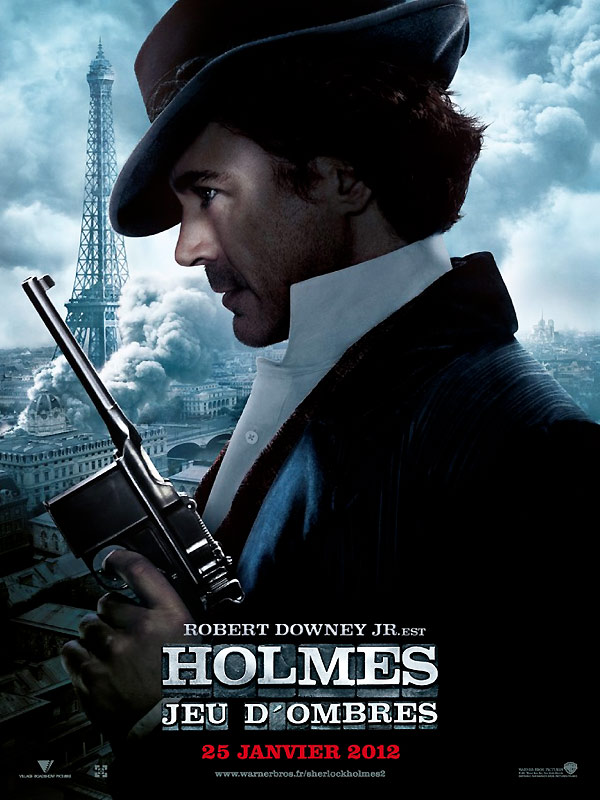 Sherlock Holmes 2 : Jeu d&#039;ombres | Multi | DVDRiP | 2011  | ReUp 07/06/2012