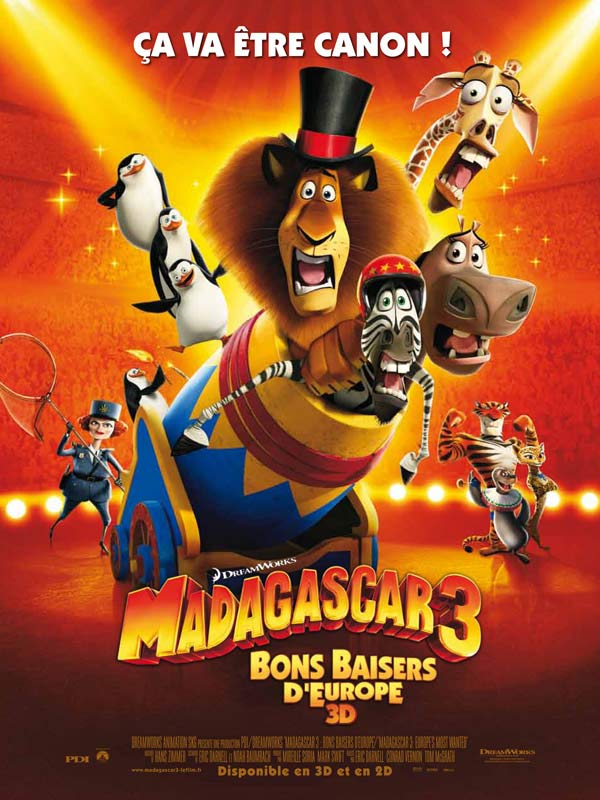 Madagascar 3, Bons Baisers D?Europe | Multi | TS MD| 2012 | TRUEFRENCH