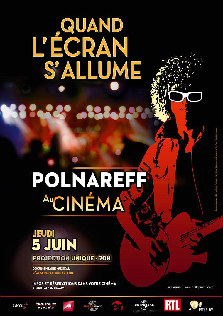 Polnareff au cinéma : quand l'écran s'allume (Pathé Live)