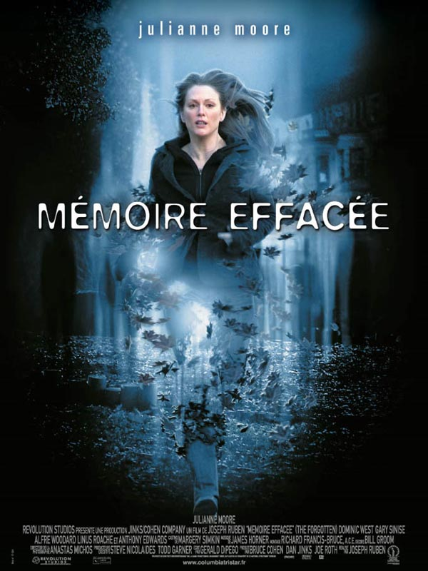 Memoire effacee streaming