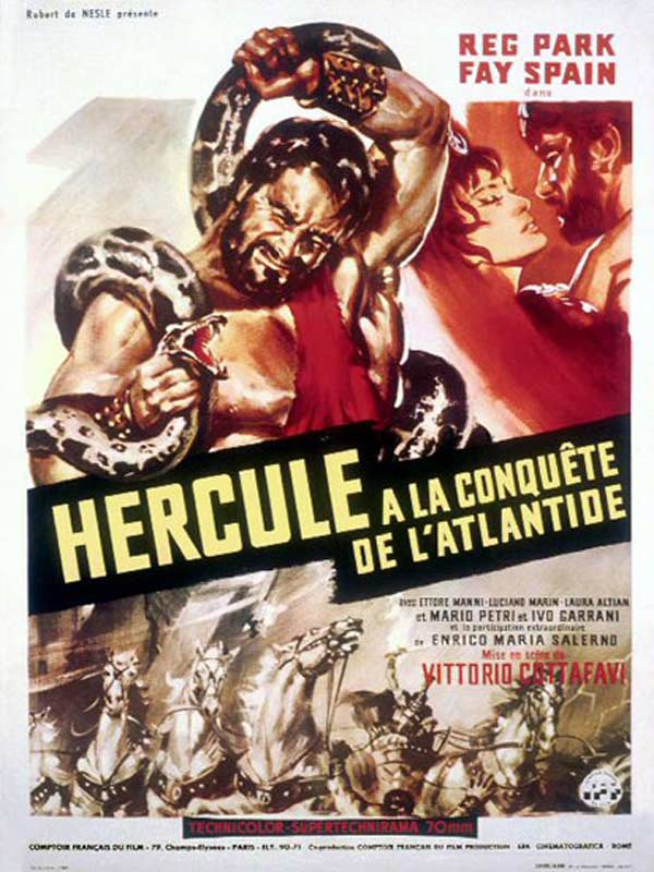 Hercule à la conquête de l'Atlantide dvdrip