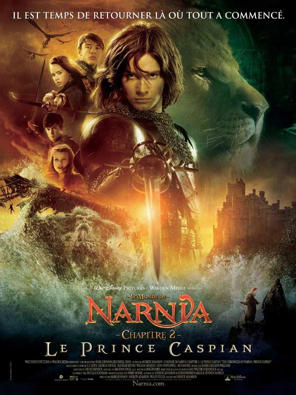 Le Monde de Narnia : Chapitre 2 - Le Prince Caspian streaming