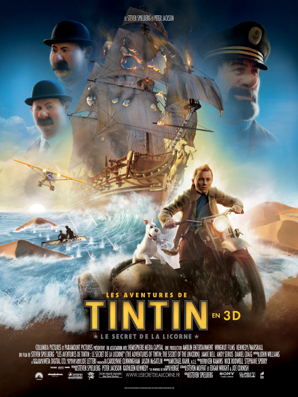 Les Aventures de Tintin : Le Secret de la Licorne streaming