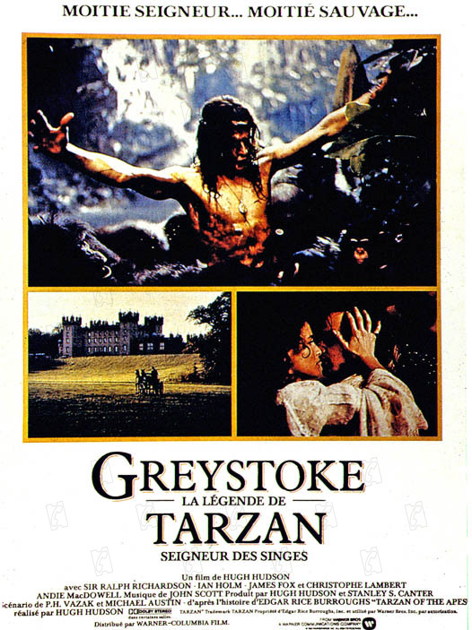 Greystoke la légende de Tarzan dvdrip
