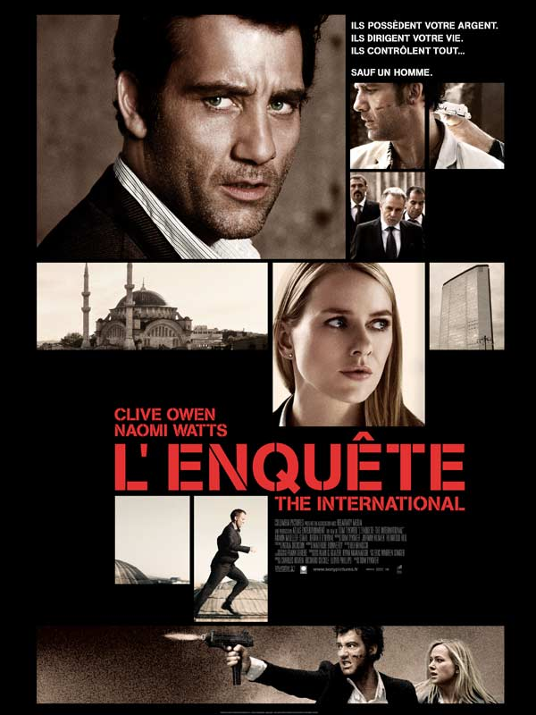 L'Enquete - The International streaming