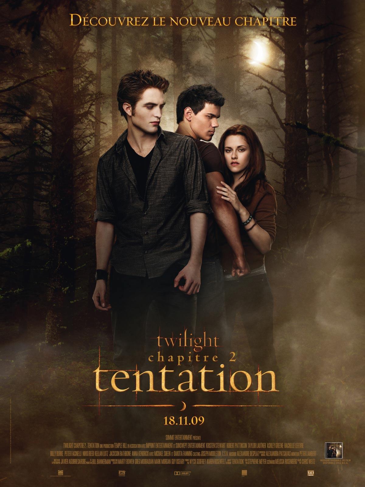 Twilight - Chapitre 2 : tentation streaming