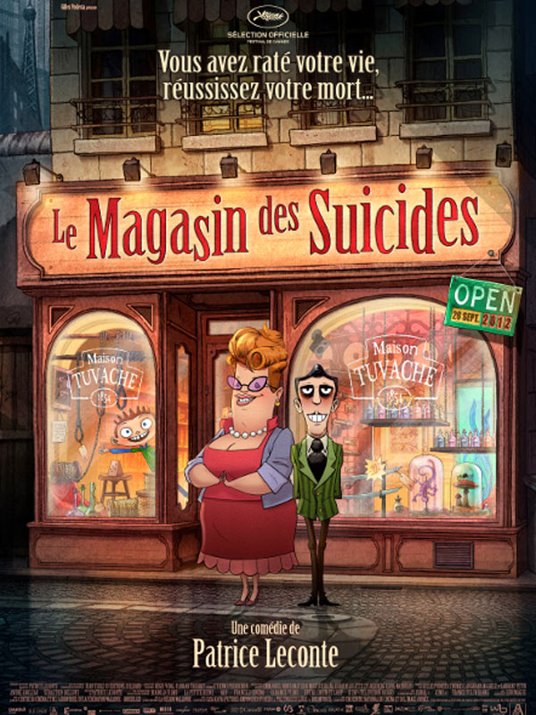 Le Magasin des suicides streaming