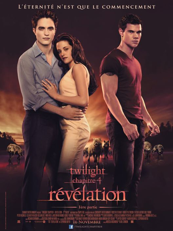 Twilight - Chapitre 4 : Revelation 1ere partie streaming