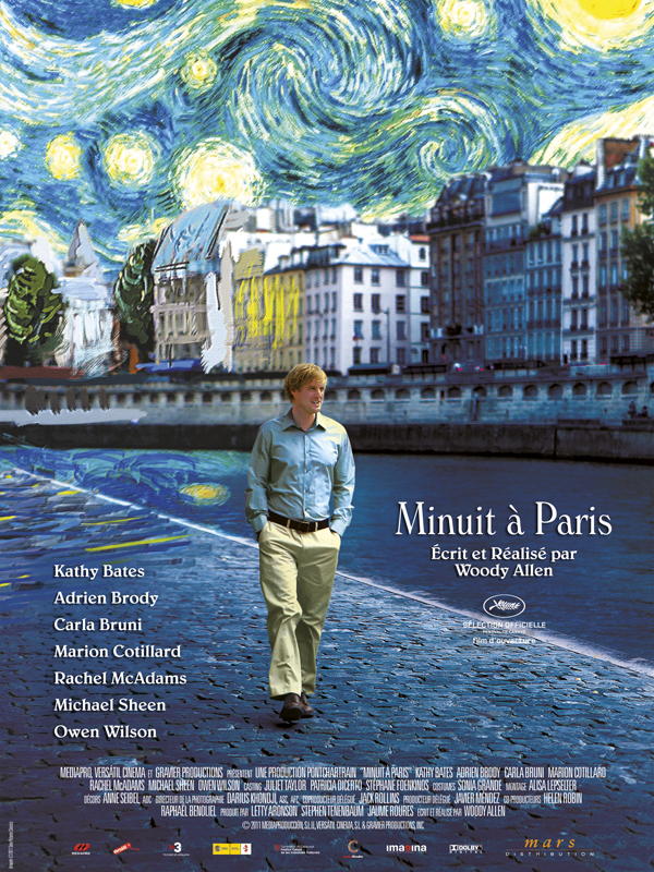 Minuit a Paris streaming