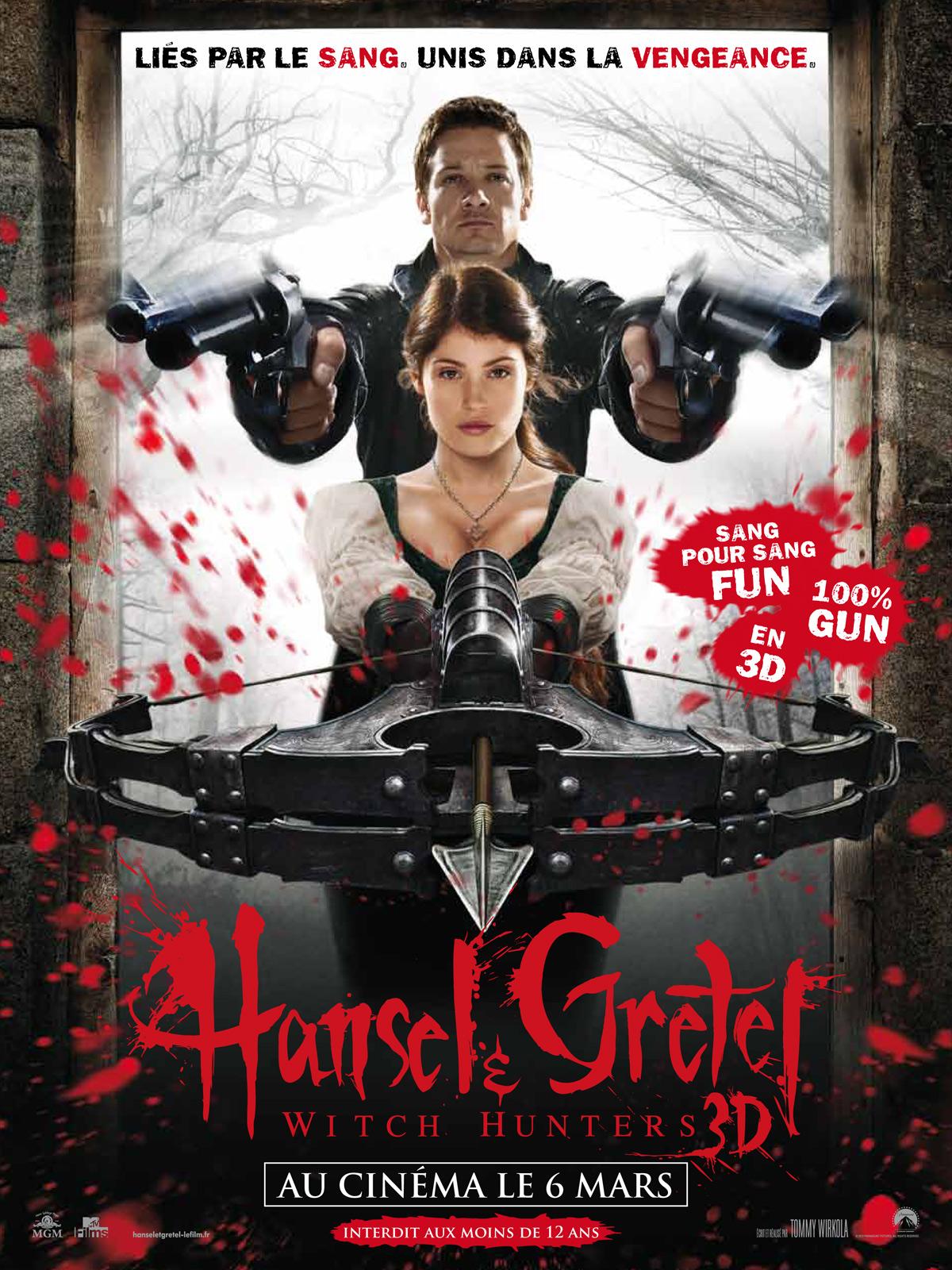 Hansel & Gretel : Witch Hunters ddl