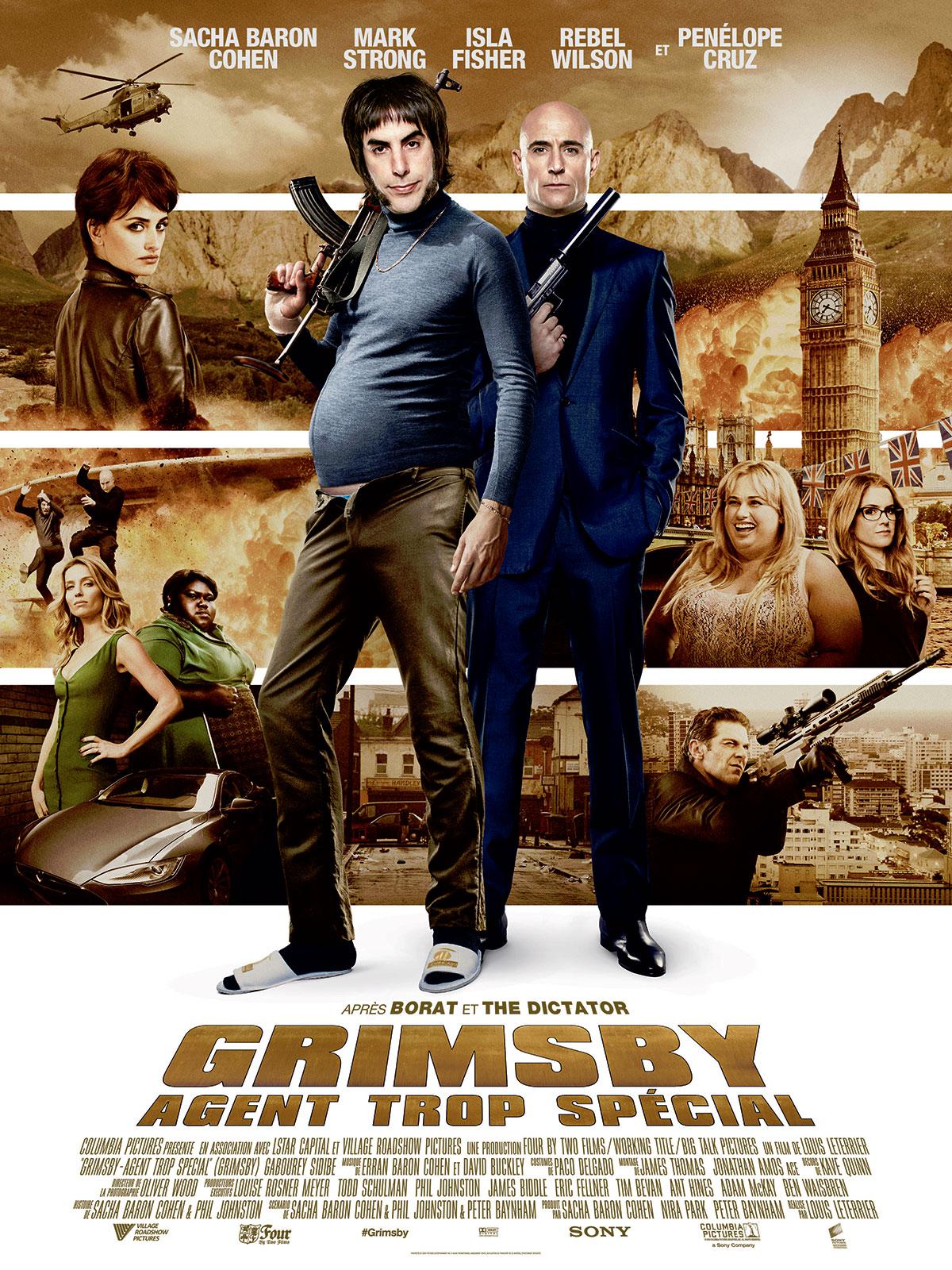 Grimsby – Agent trop spécial