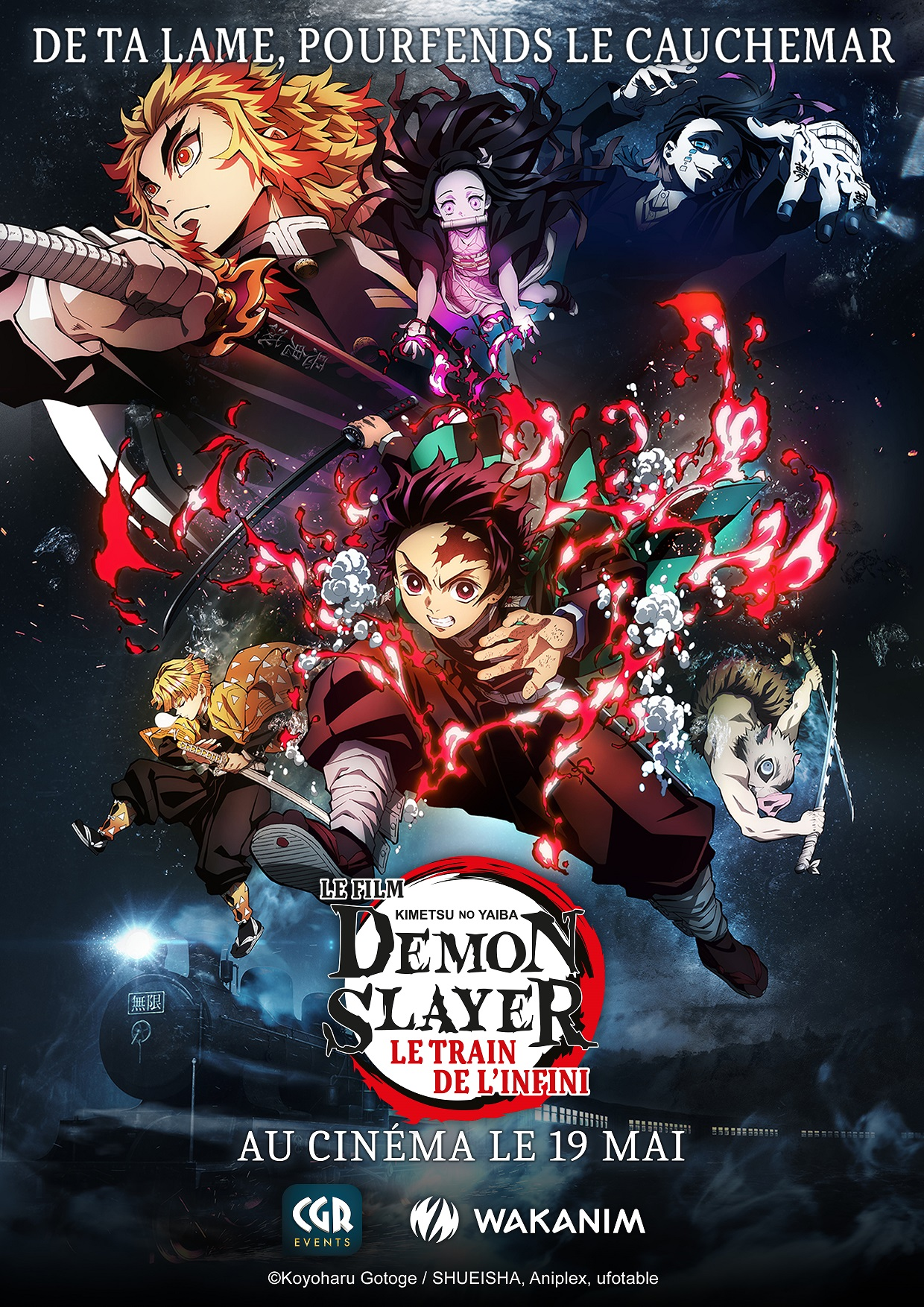 Demon Slayer - Kimetsu no Yaiba - Le film : Le train de l'infini