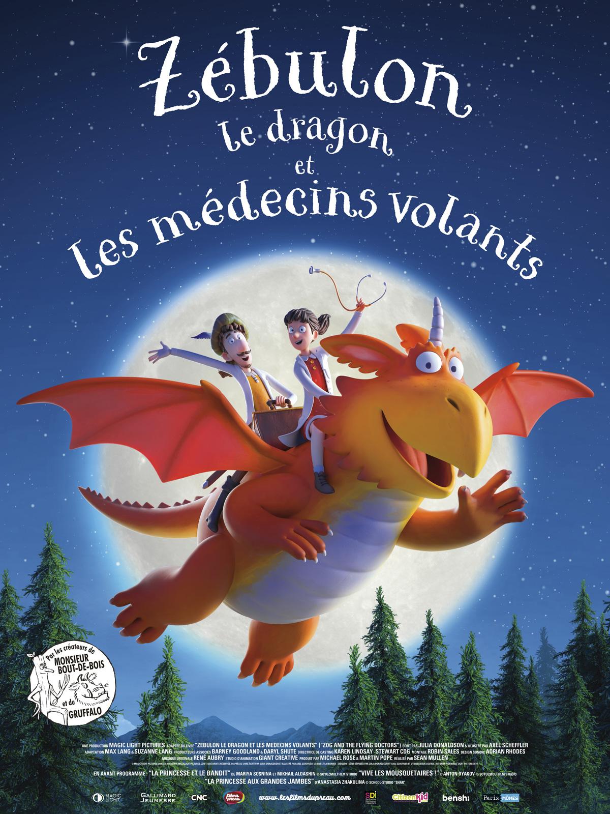Zébulon le dragon et les médecins volants