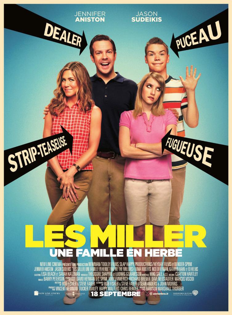 Les Miller une famille en herbe dvdrip