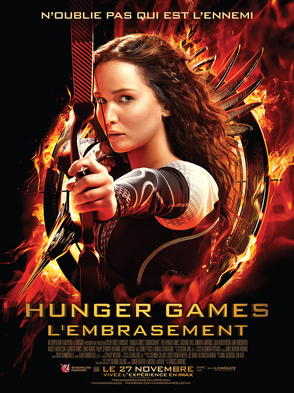 Hunger Games 2 – L'embrasement [TS.MD] dvdrip