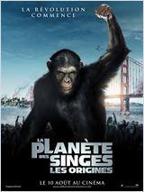 affiche la planète des singes aux orgines