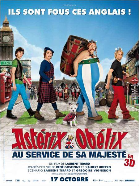 Astérix et Obélix: Au service de sa Majesté : affiche