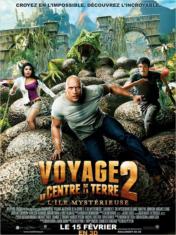 Voyage au centre de la Terre 2 : L'île mystérieuse ddl
