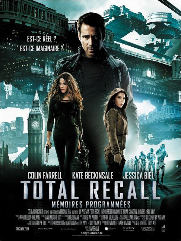 Total Recall Mémoires Programmées ddl